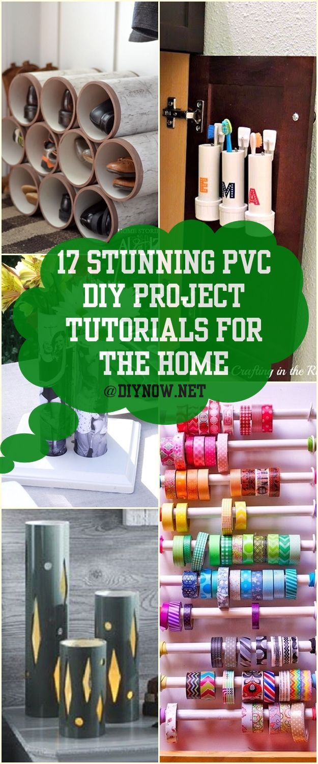 Living Room Decor Trends 2018: 17 Stunning PVC DIY Project Tutorials For The Home