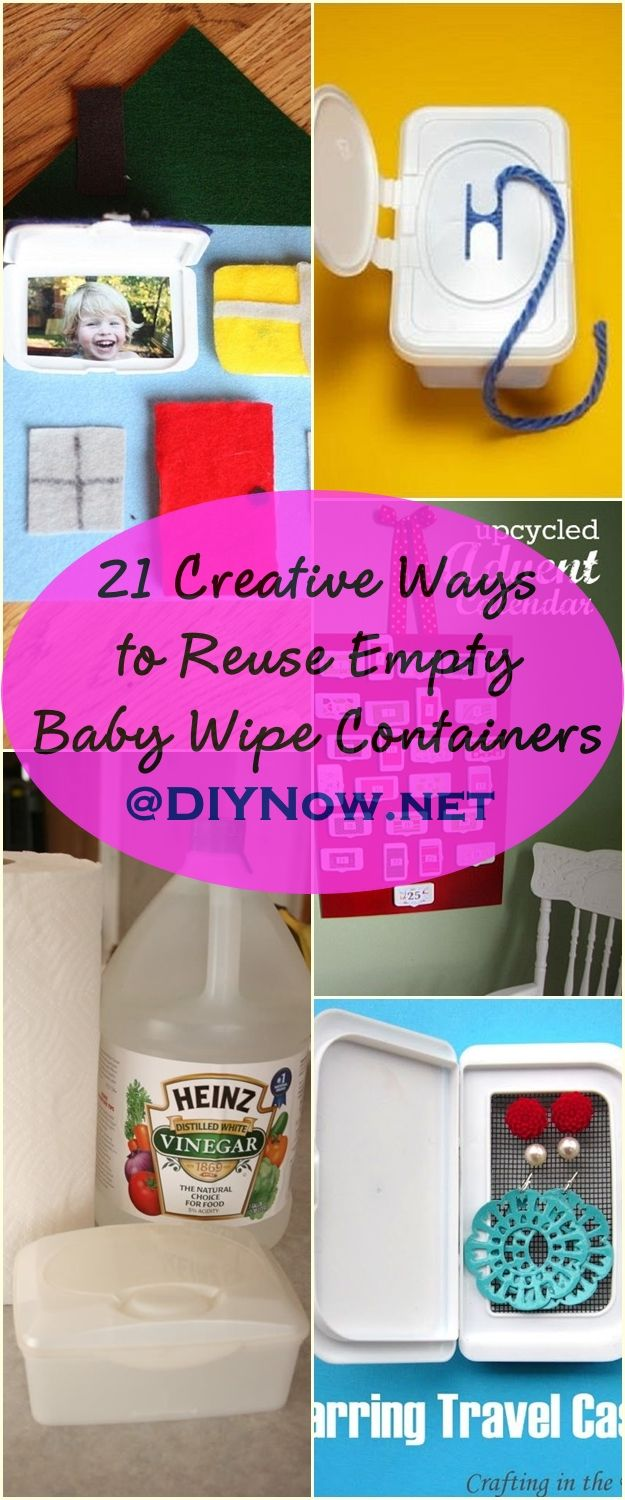 21 Creative Ways to Reuse Empty Baby Wipe Containers