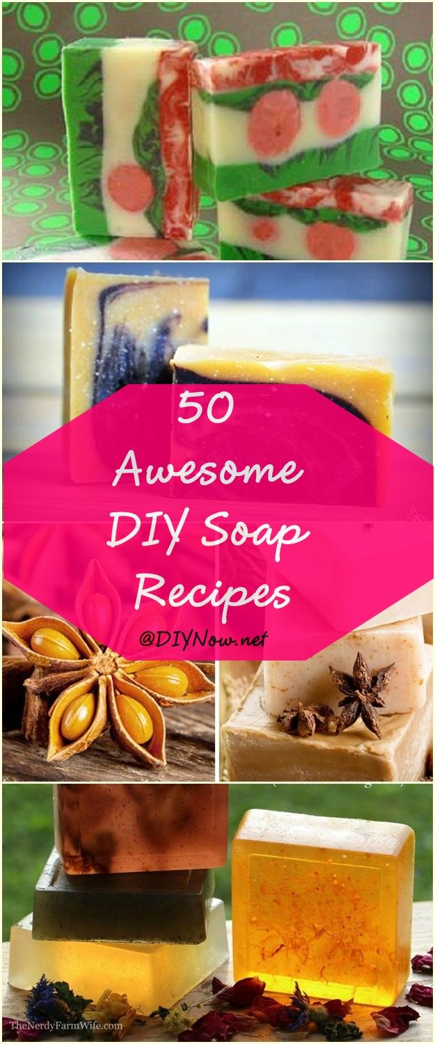 50 Awesome DIY Soap Recipes