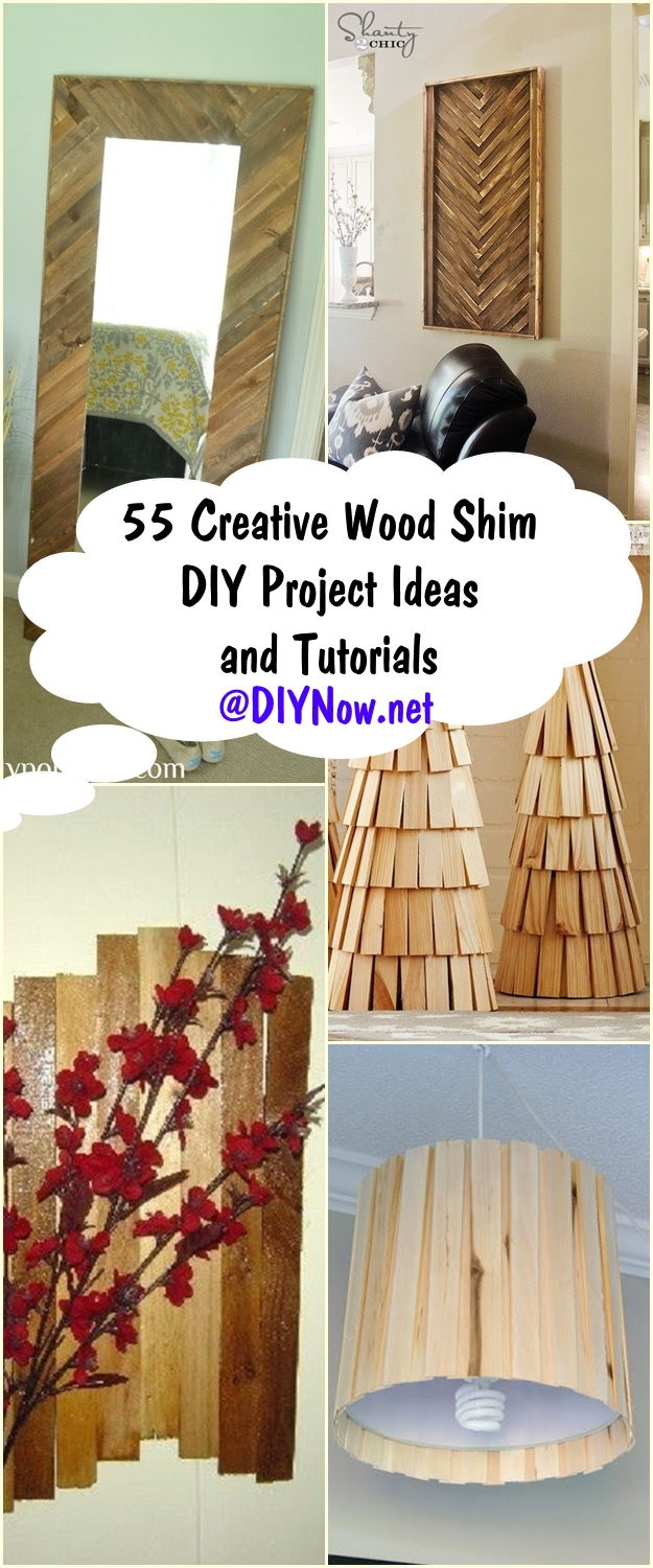 55 Creative Wood Shim DIY Project Ideas and Tutorials