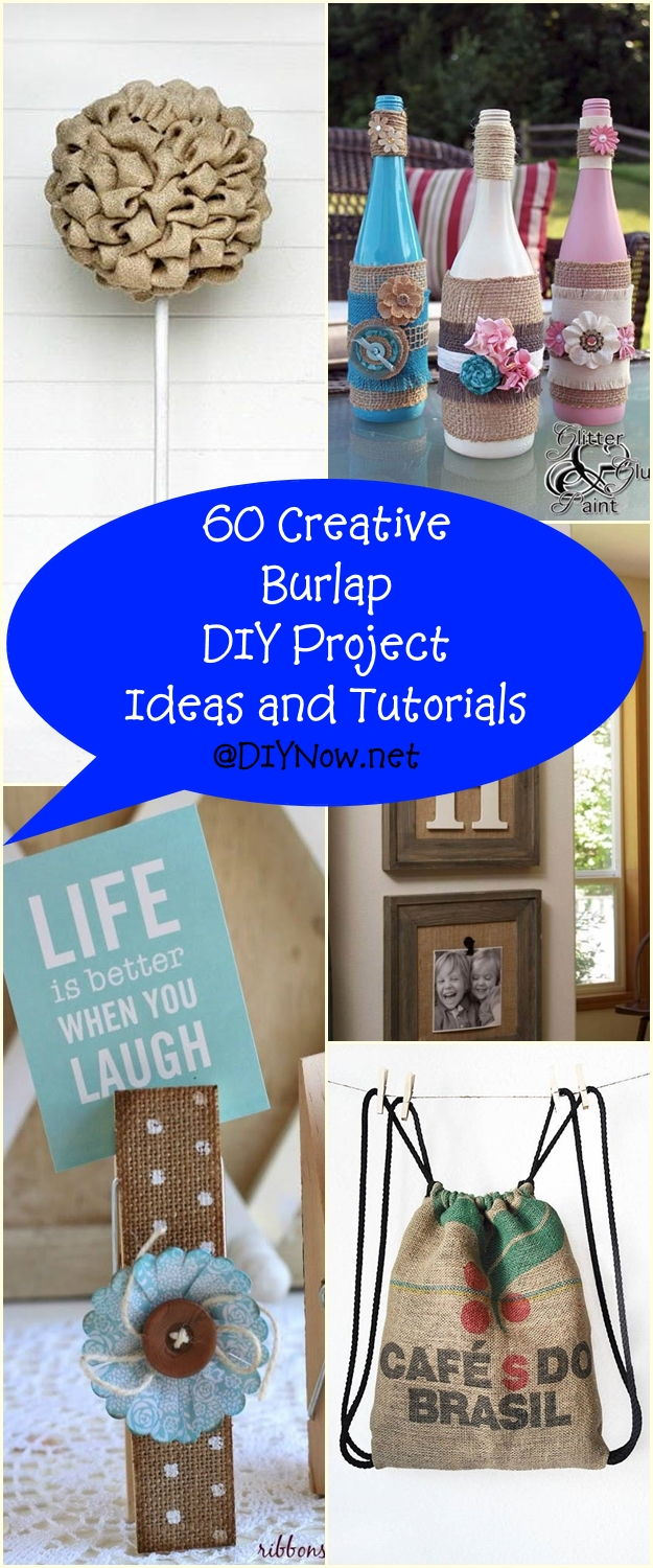 60 Creative Burlap DIY Project Ideas and Tutorials