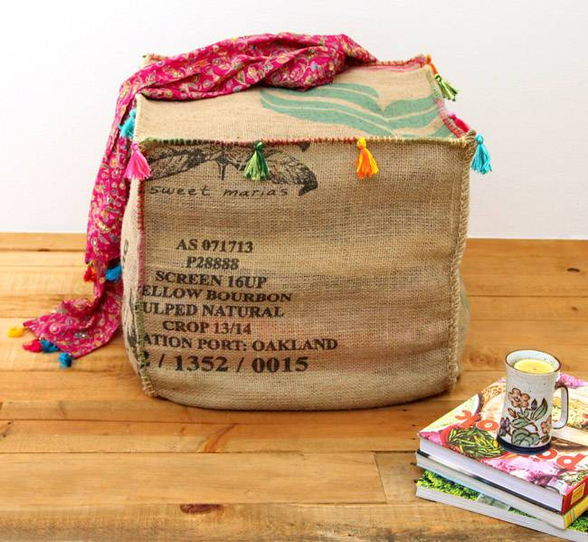 60 creative burlap diy project ideas and tutorials page Burlap bag decorating ideas