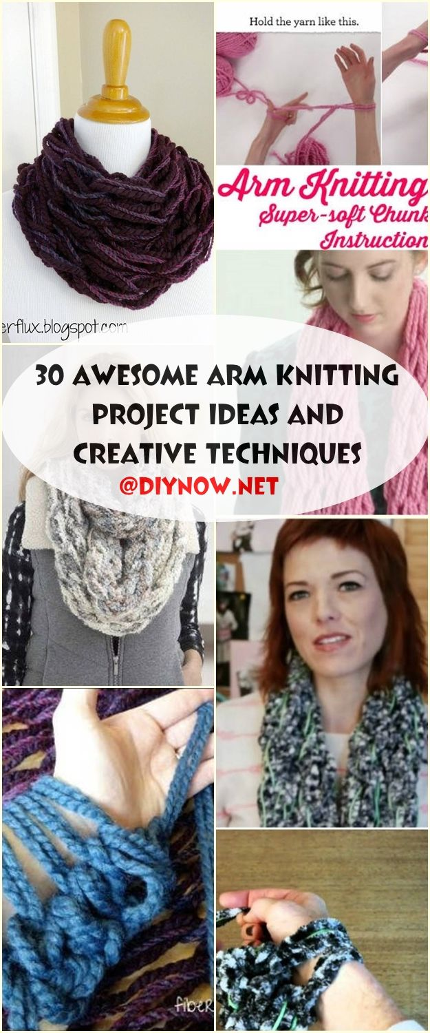 30 Awesome Arm Knitting Project Ideas and Creative Techniques