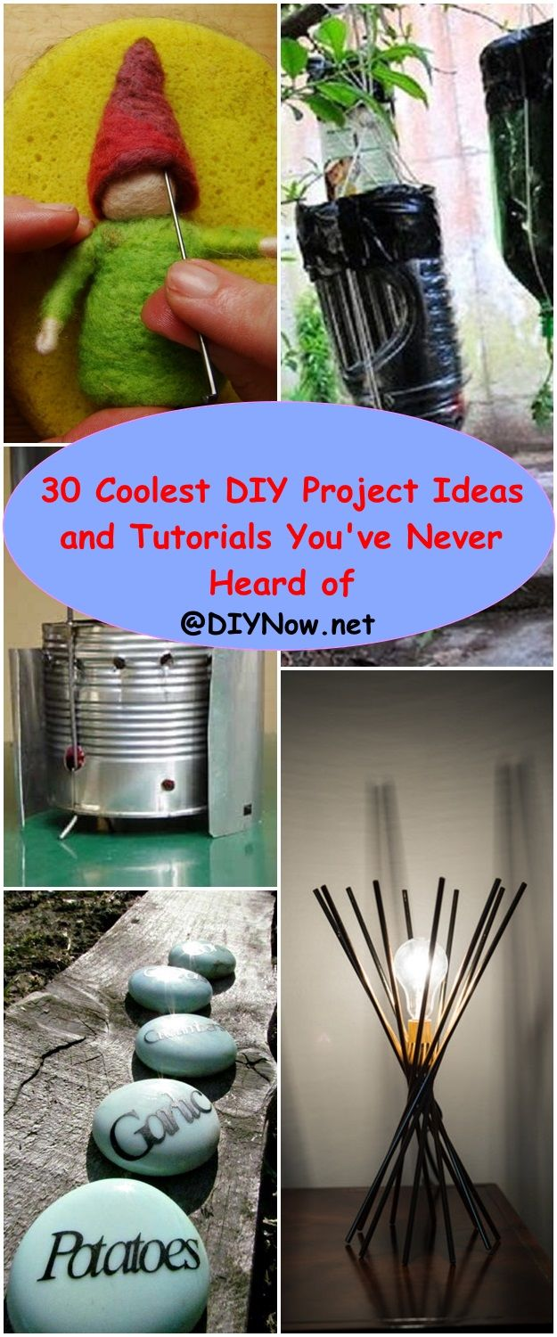 30 Coolest DIY Project Ideas and Tutorials You've Never Heard of