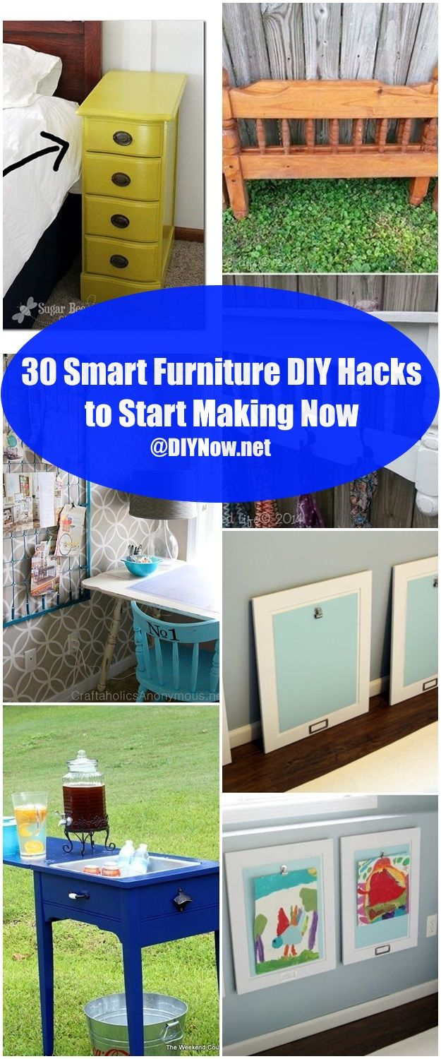 30 Smart Furniture DIY Hacks to Start Making Now