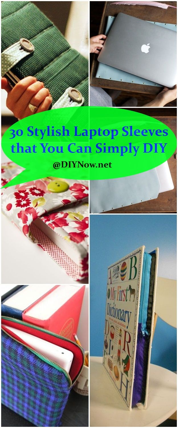 30 Stylish Laptop Sleeves that You Can Simply DIY