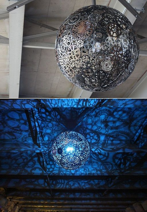30 Awesome Diy Lamps And Chandeliers You Can Make Using Everyday Objects Page 21 Diynow Net