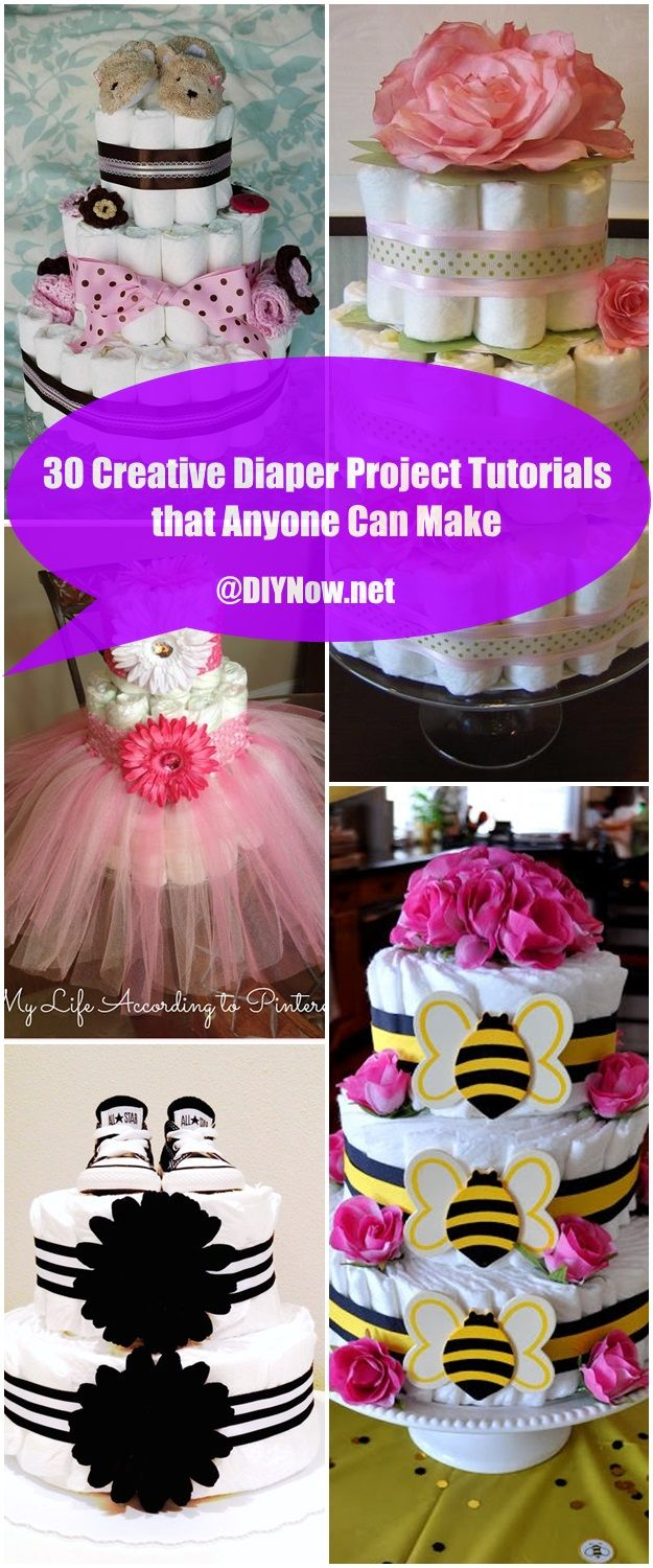 30 Creative Diaper Project Tutorials that Anyone Can Make