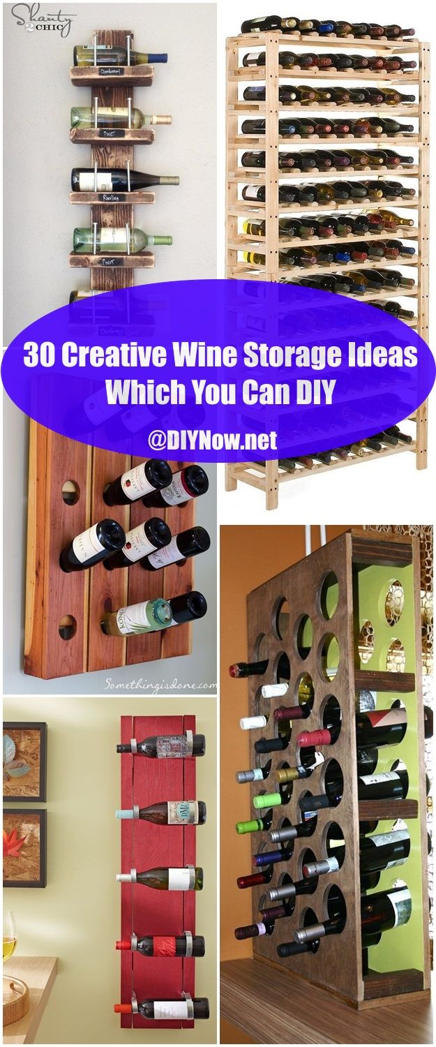 30 Creative Wine Storage Ideas Which You Can DIY