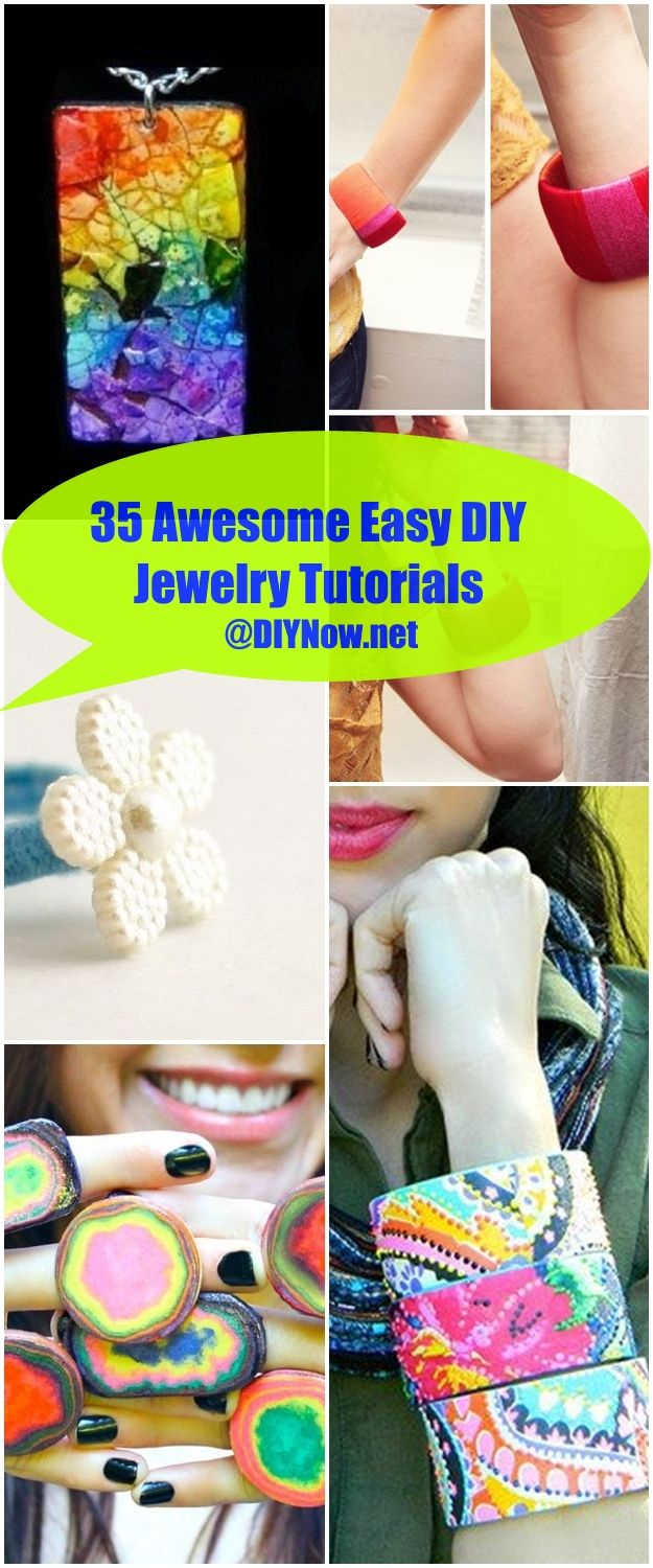 35 Awesome Easy DIY Jewelry Tutorials