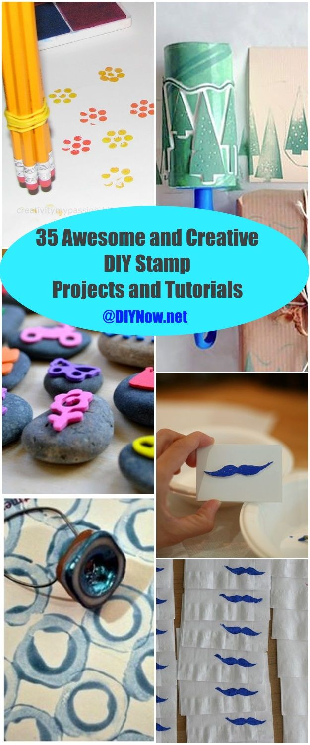 35 Awesome and Creative DIY Stamp Projects and Tutorials