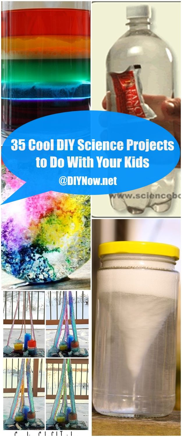 35 Cool DIY Science Projects to Do With Your Kids