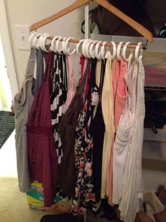 Organize Your Clothes 10 Creative And Effective Ways To Store And Hang Your Clothes: 35 Insanely Creative Life Hacks For Easy Solutions To