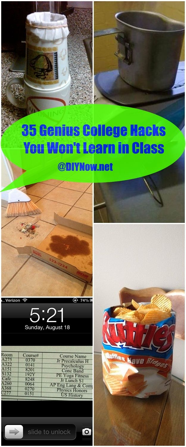 35 Genius College Hacks You Wont Learn in Class