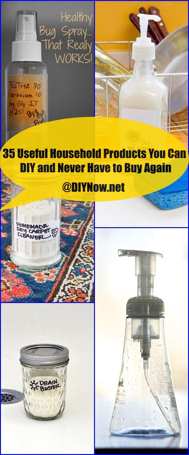 35 Useful Household Products You Can DIY and Never Have to Buy Again