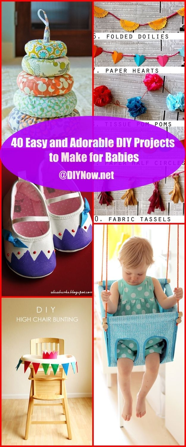 40 Easy and Adorable DIY Projects to Make for Babies
