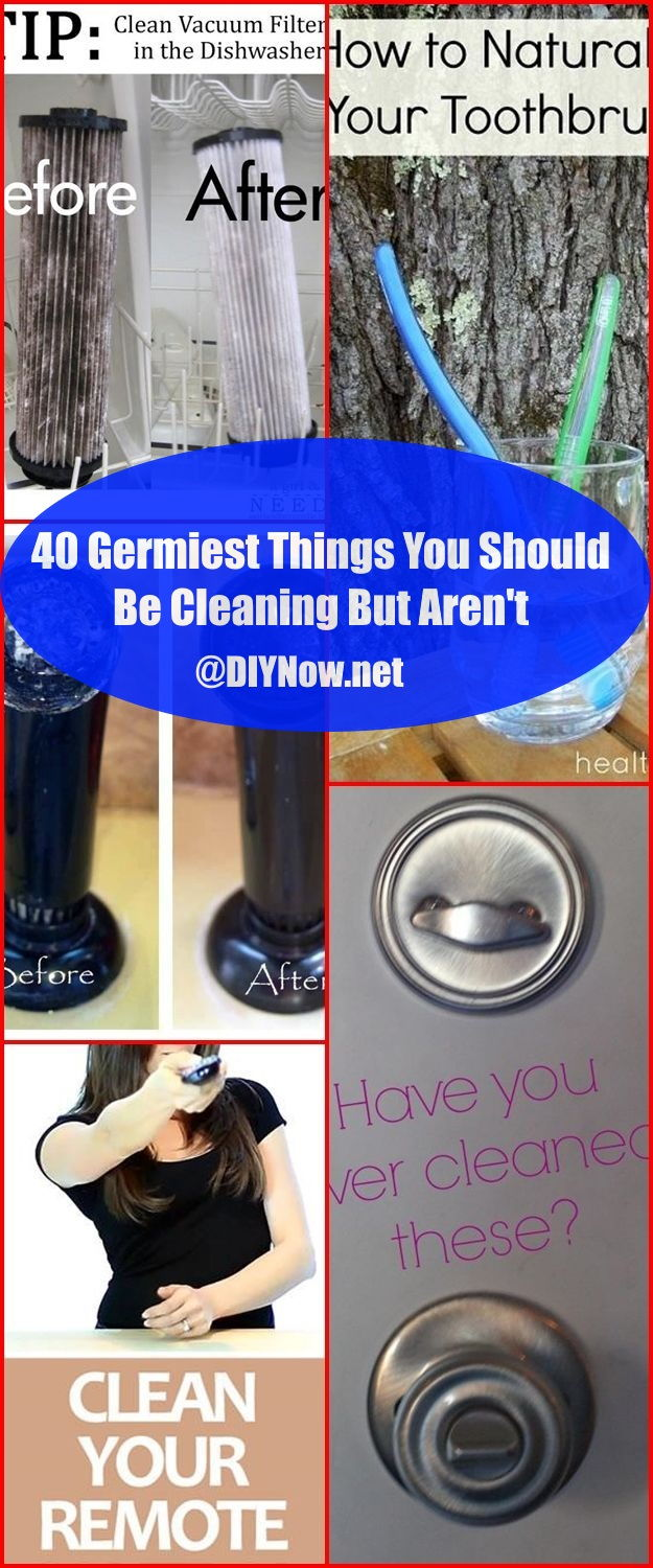40 Germiest Things You Should Be Cleaning But Aren't