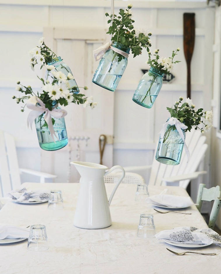 Vintage Wedding Ideas Mason Jars: 35 Easy Cheap DIY Wedding Decoration Project Ideas On A