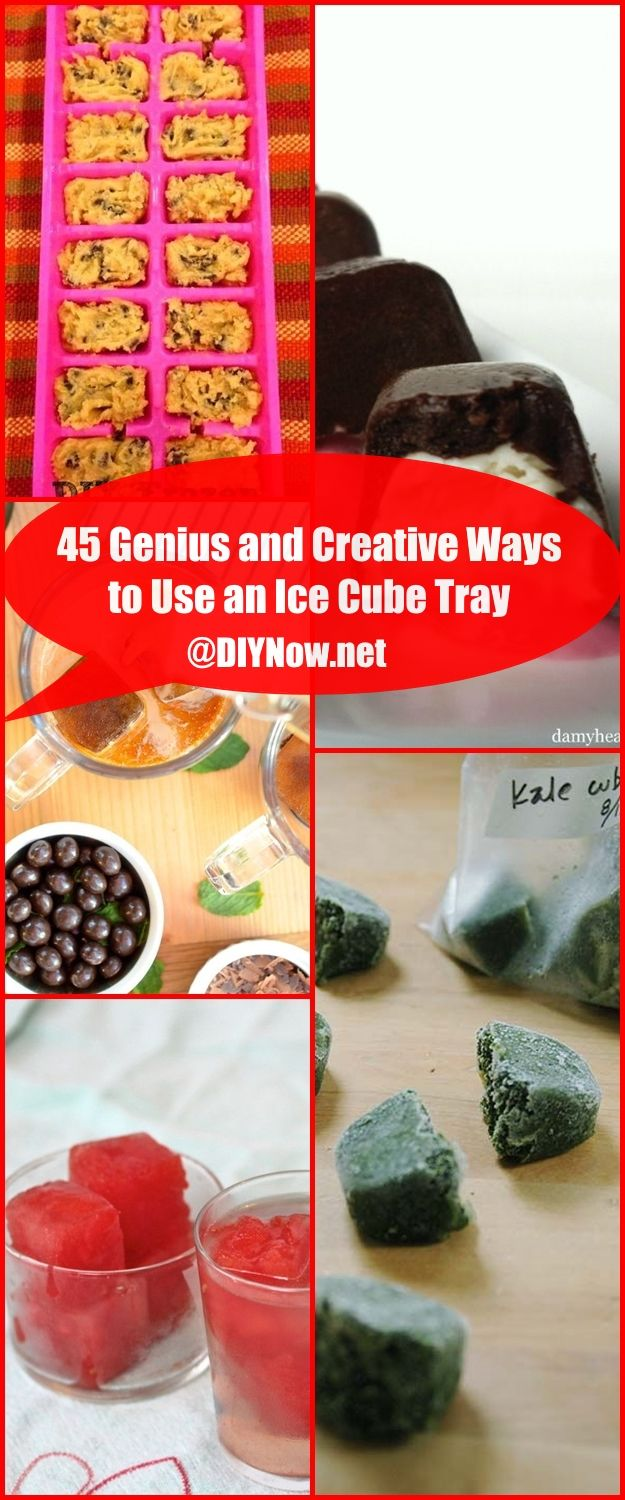 45 Genius and Creative Ways to Use an Ice Cube Tray