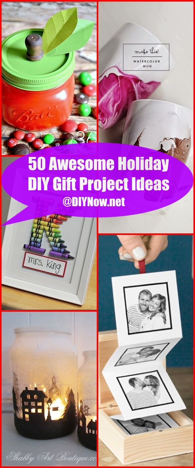 50 Awesome Holiday DIY Gift Project Ideas