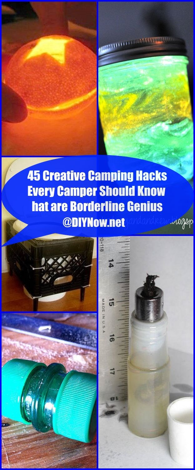 45 Creative Camping Hacks Every Camper Should Know that are Borderline Genius
