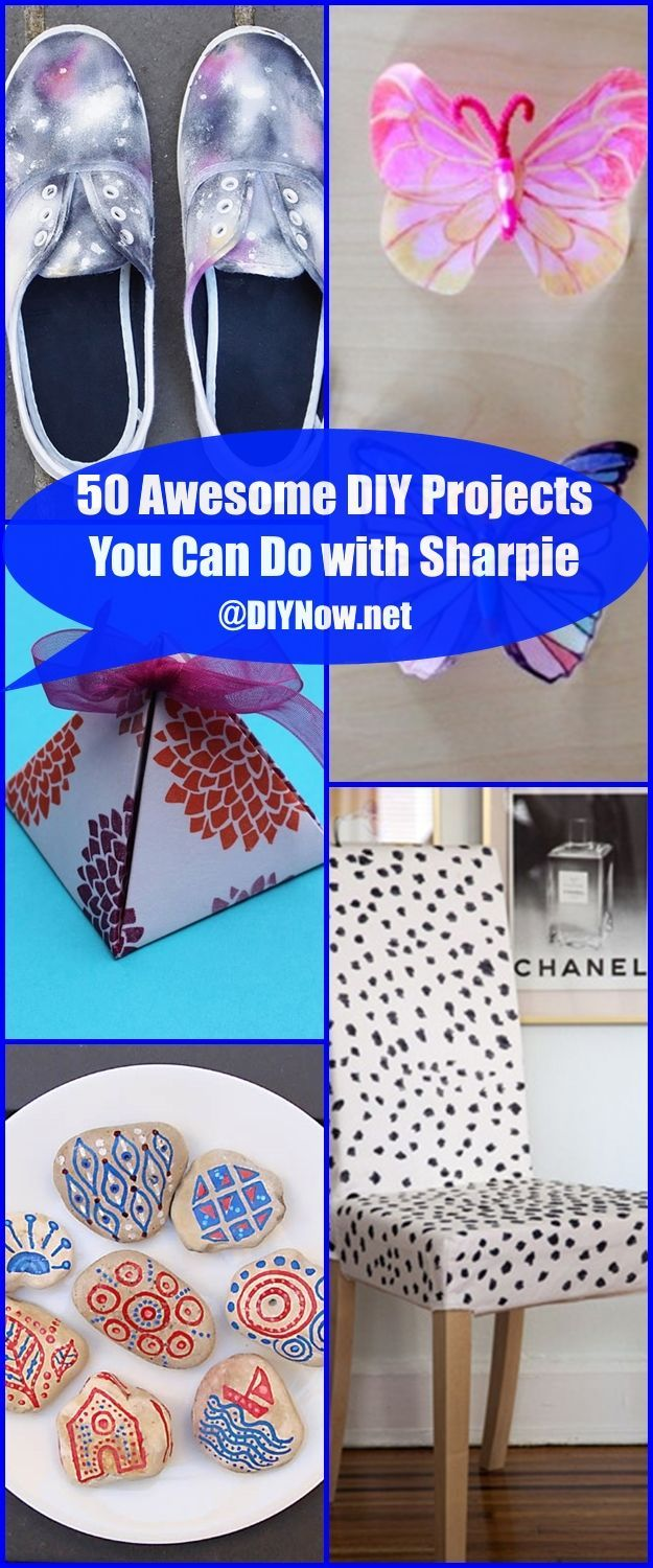 50 Awesome DIY Projects You Can Do with Sharpie