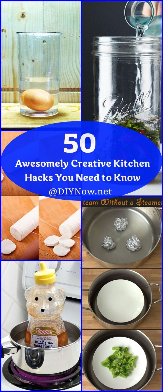 50 Awesomely Creative Kitchen Hacks You Need to Know