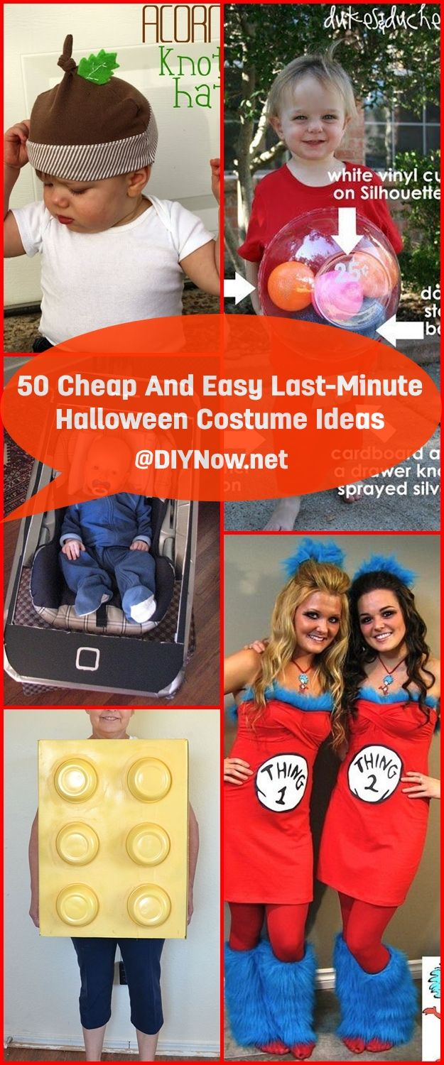 50 Cheap And Easy Last-Minute Halloween Costume Ideas