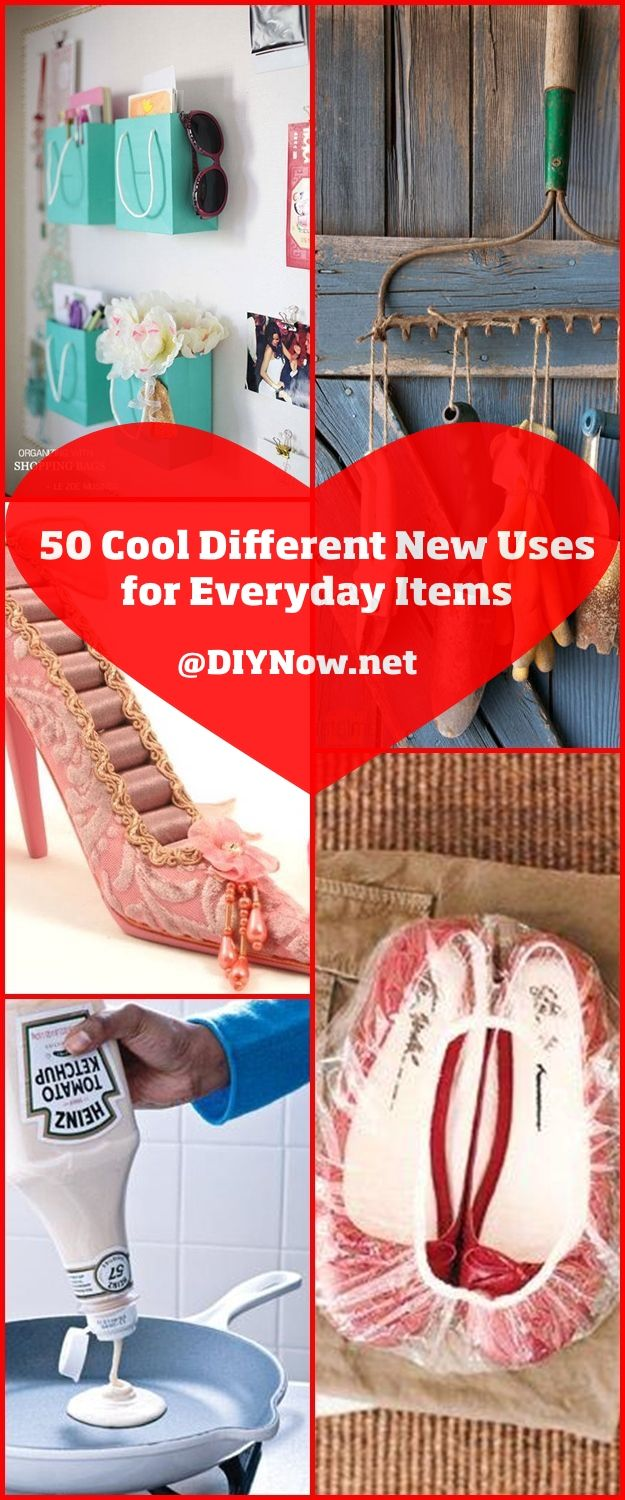 50 Cool Different New Uses for Everyday Items