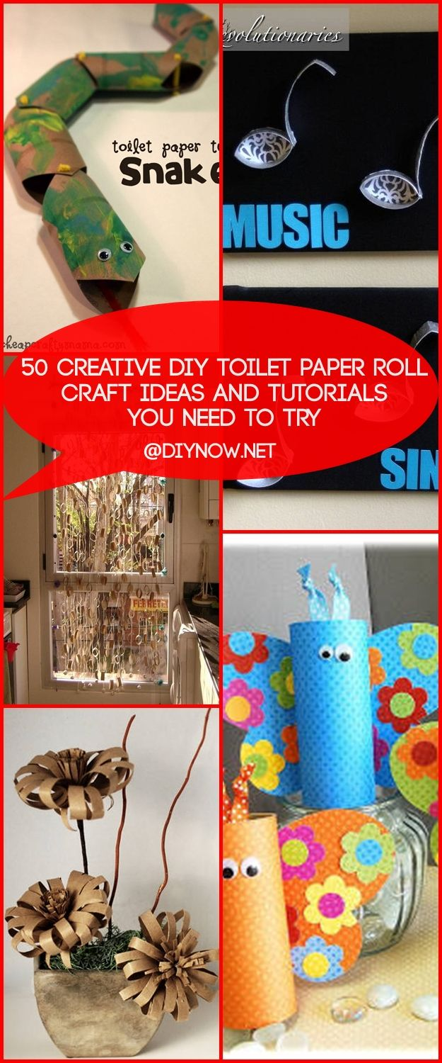 50 Creative DIY Toilet Paper Roll Craft Ideas and Tutorials You Need to Try