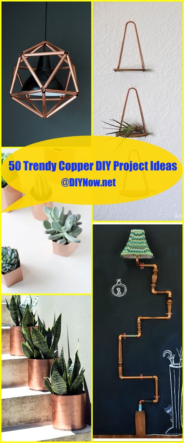 50 Trendy Copper DIY Project Ideas