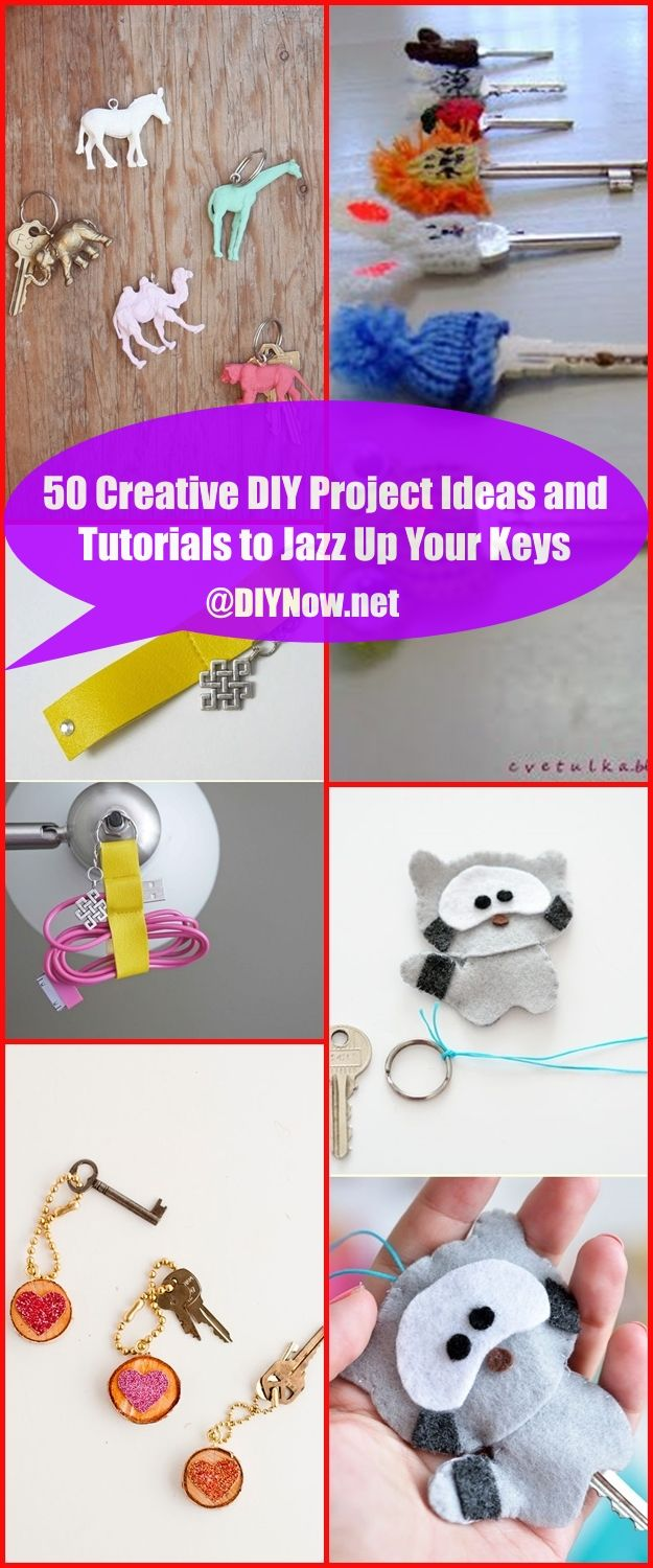50 Creative DIY Project Ideas and Tutorials to Jazz Up Your Keys