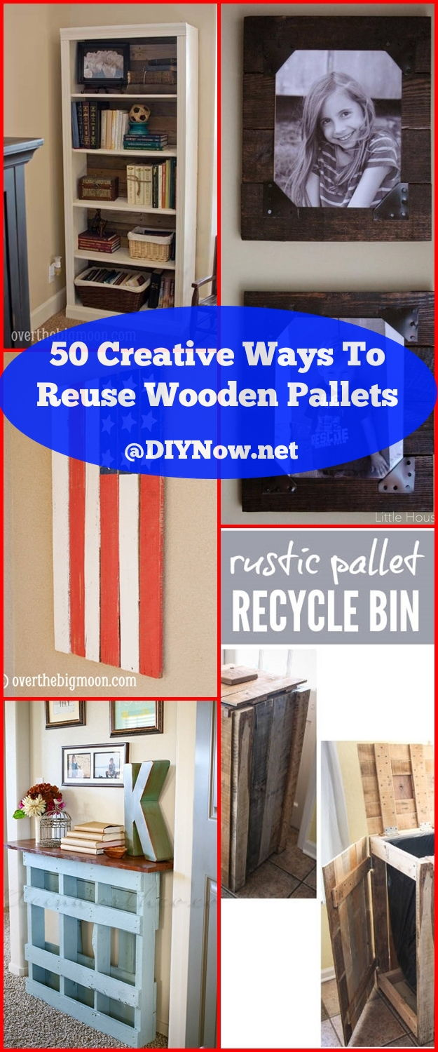 50 Creative Ways To Reuse Wooden Pallets