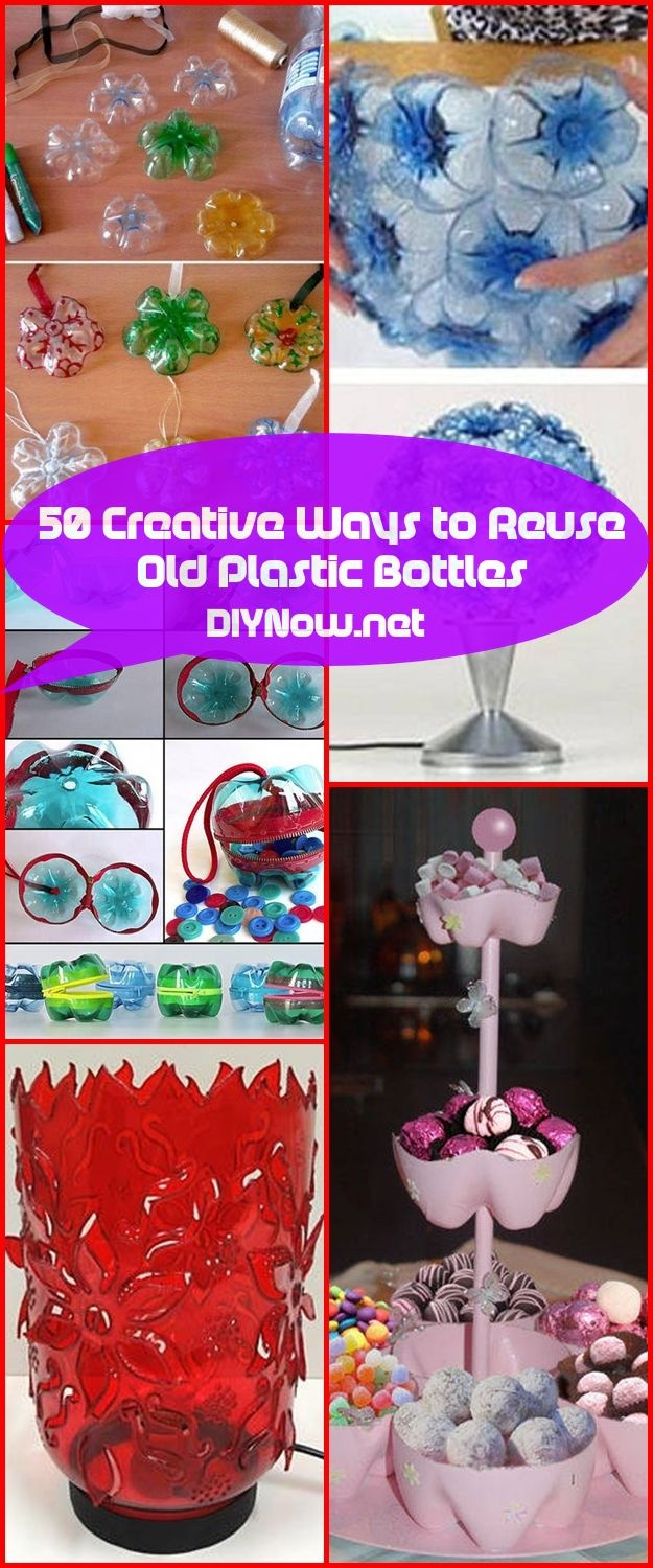 50 Creative Ways to Reuse Old Plastic Bottles