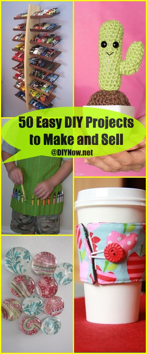 76 diy craft ideas to make and sell simple craft ideas for Easy crafts to make and sell for profit