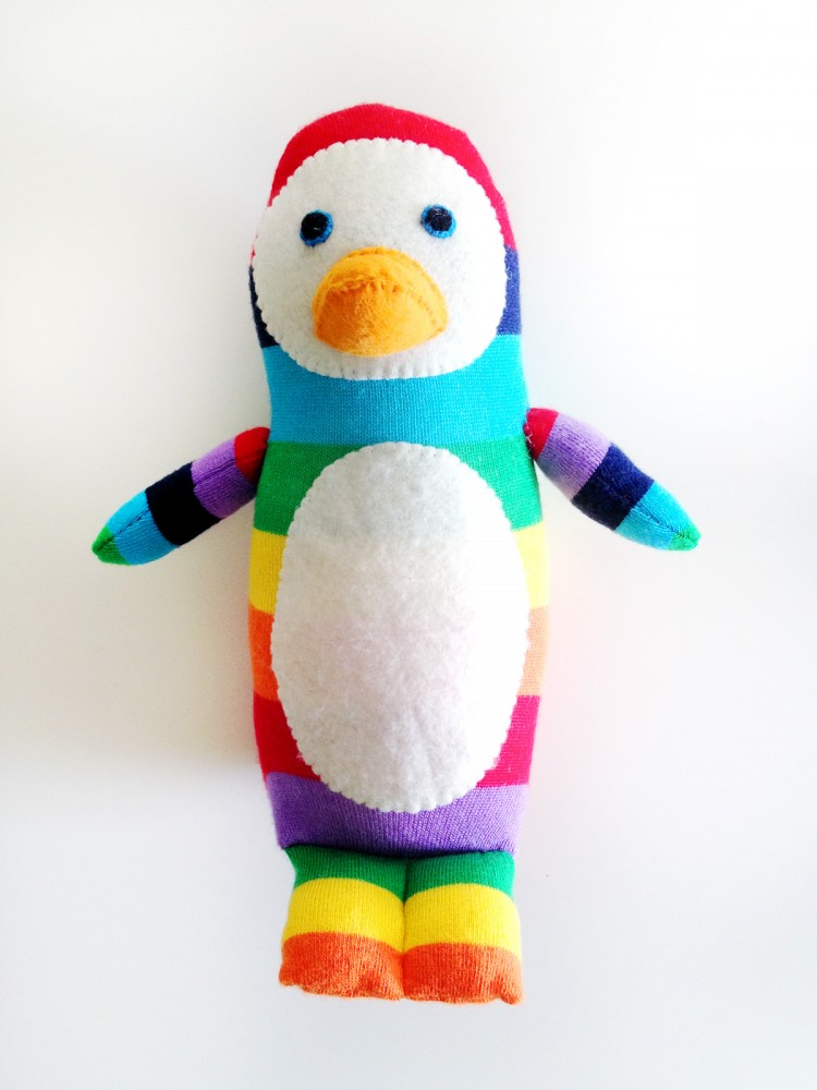 50 Insanely Adorable DIY Sock Toys - Page 19 - DIYNow.net