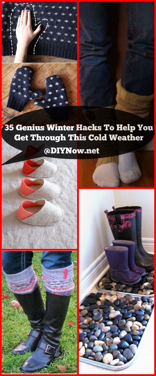 35 Genius Winter Hacks To Help You Get Through This Cold Weather