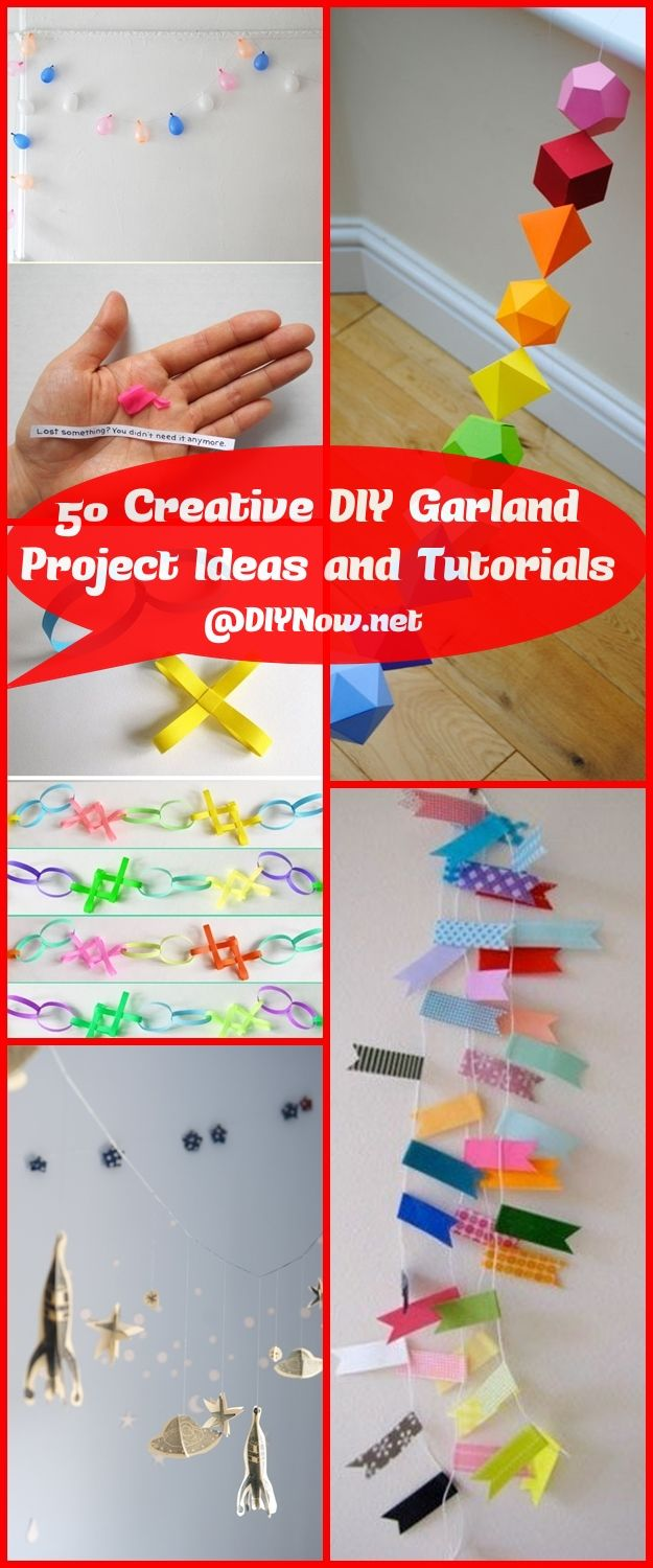 50 Creative DIY Garland Project Ideas and Tutorials