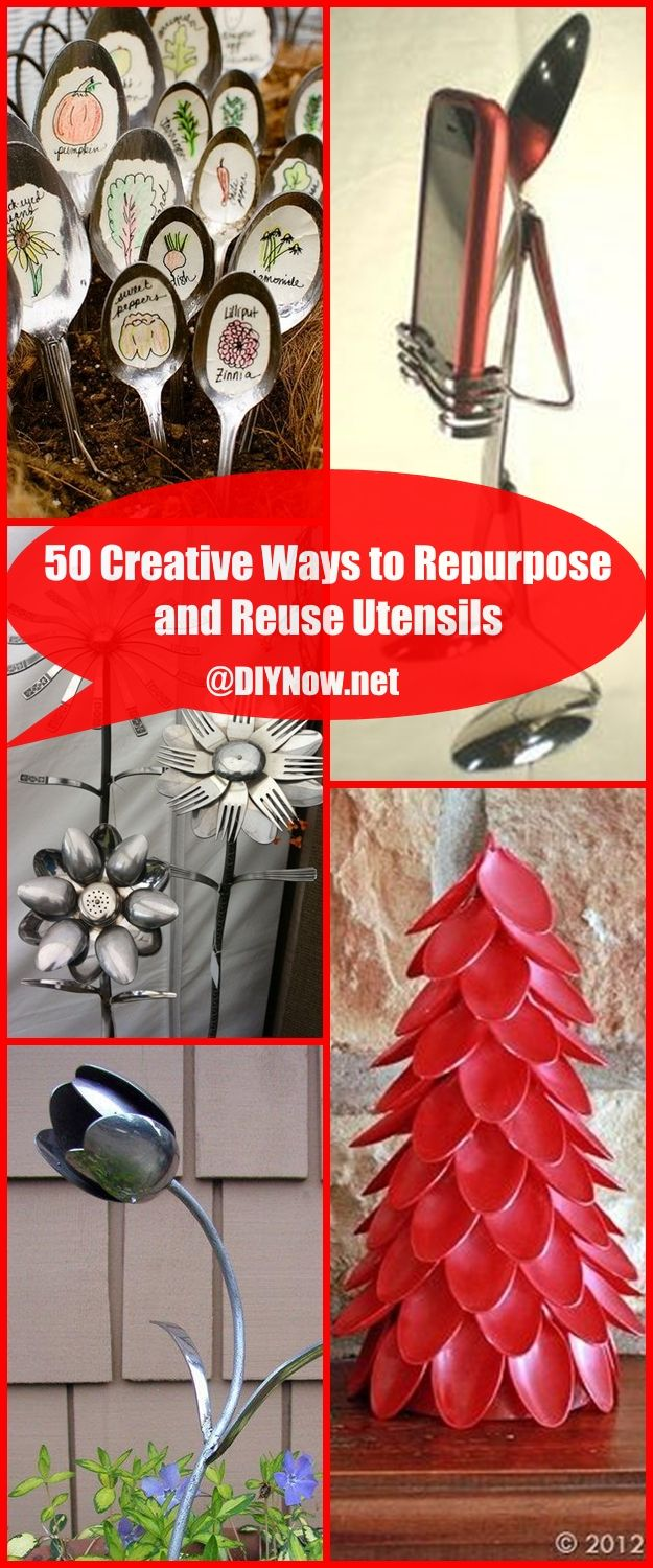 50 Creative Ways to Repurpose and Reuse Utensils