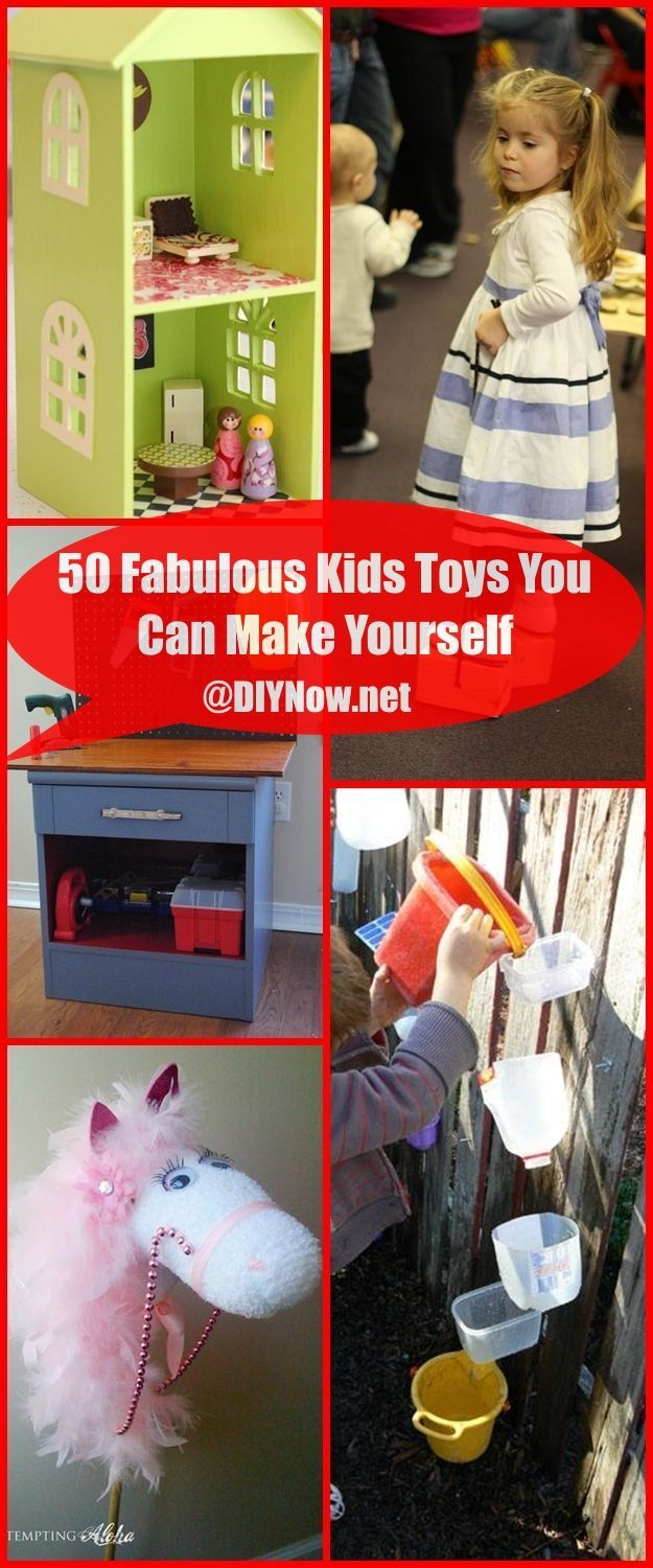 50 Fabulous Kids Toys You Can Make Yourself