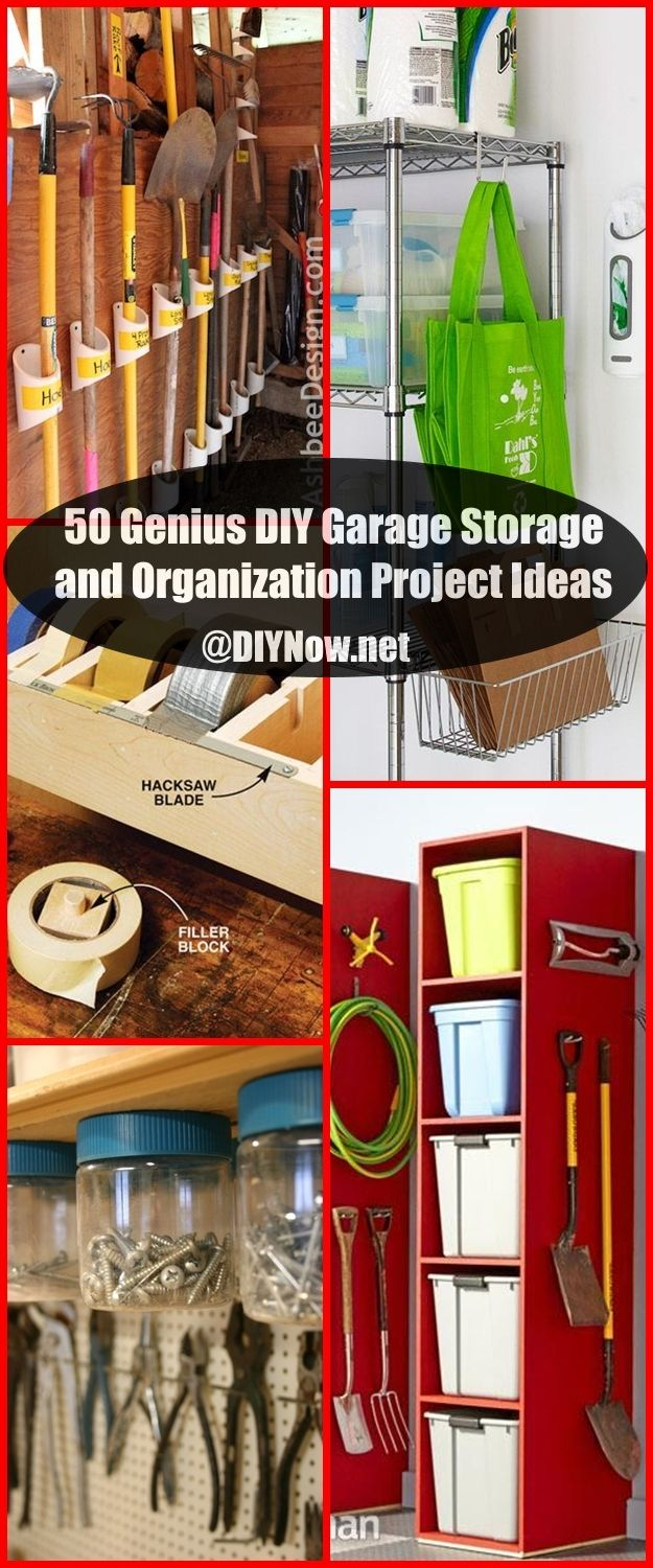 50 Genius DIY Garage Storage and Organization Project Ideas