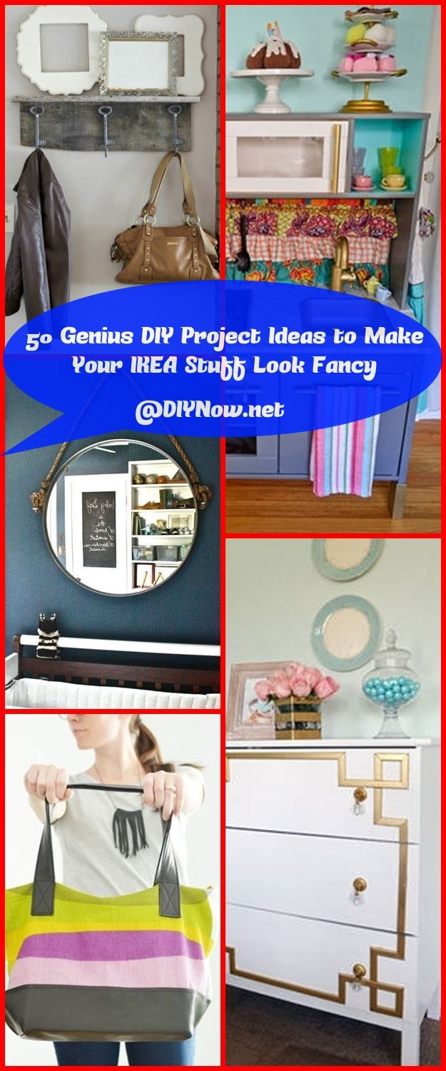 50 Genius DIY Project Ideas to Make Your IKEA Stuff Look Fancy