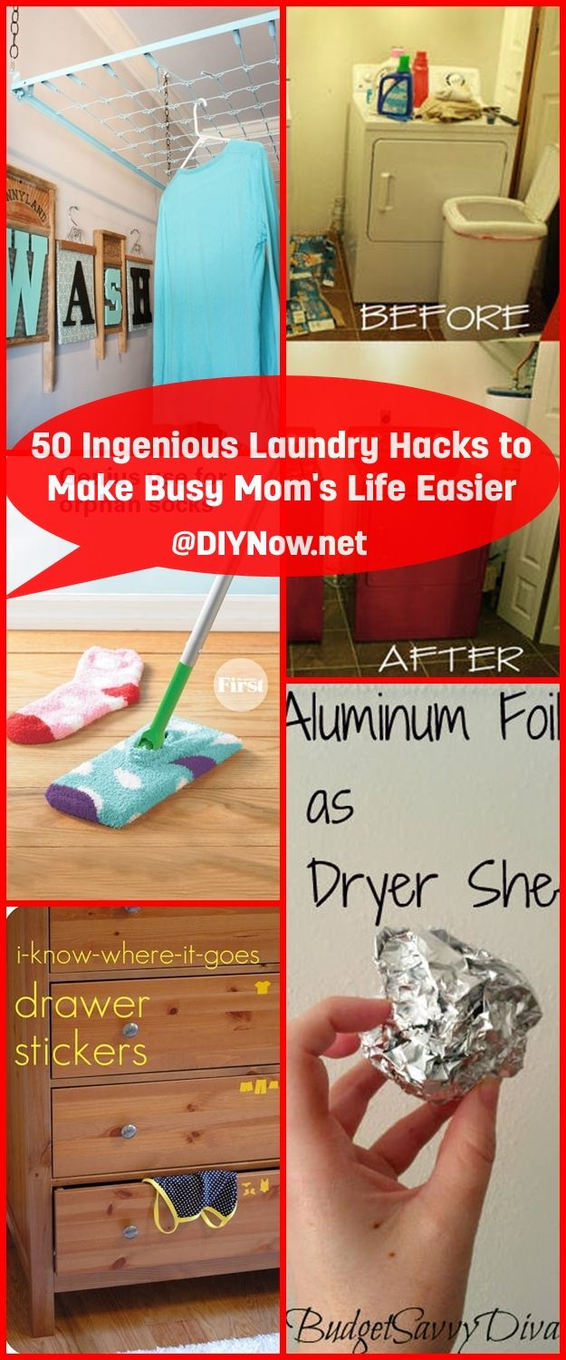 50 Ingenious Laundry Hacks to Make Busy Moms Life Easier