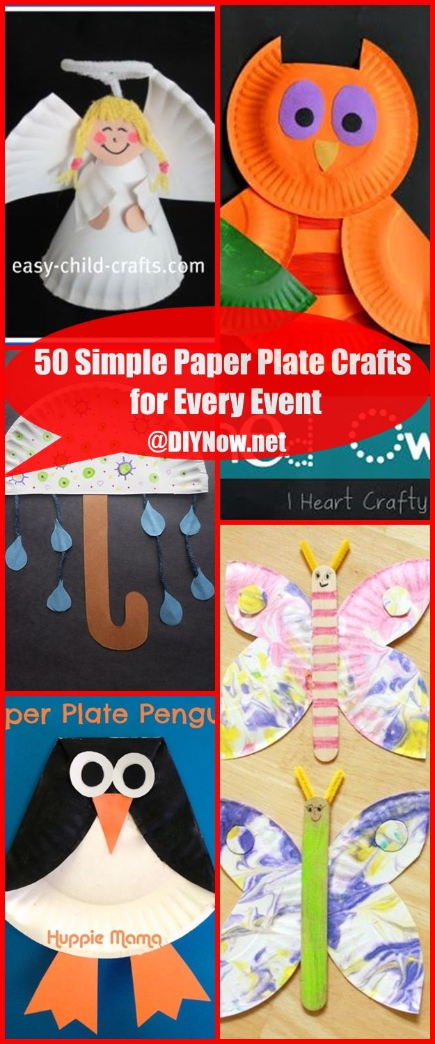 50 Simple Paper Plate Crafts for Every Event