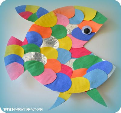 3. The Rainbow Fish & 50 Simple Paper Plate Crafts for Every Event \u2013 Page 4 \u2013 DIYNow.net