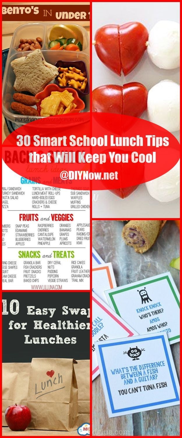 30 Smart School Lunch Tips that Will Keep You Cool