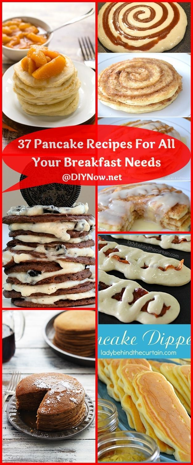 37 Pancake Recipes For All Your Breakfast Needs