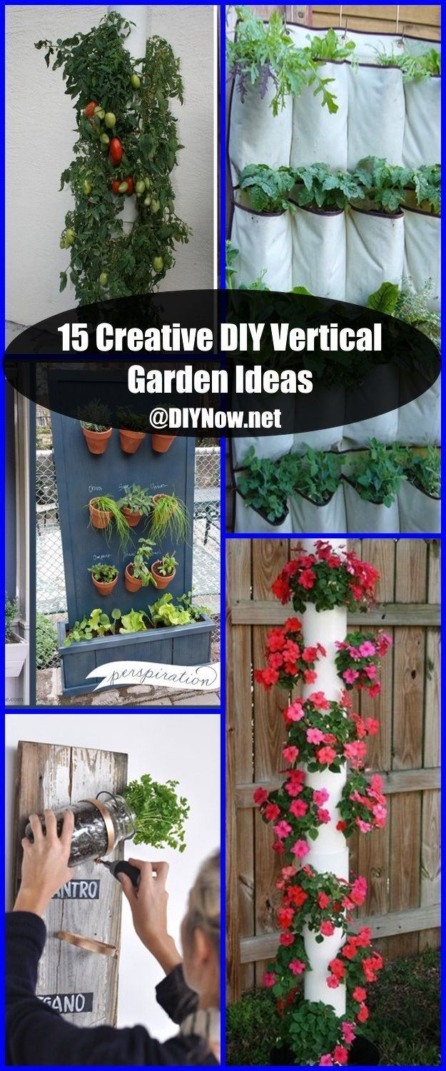15 Creative DIY Vertical Garden Ideas