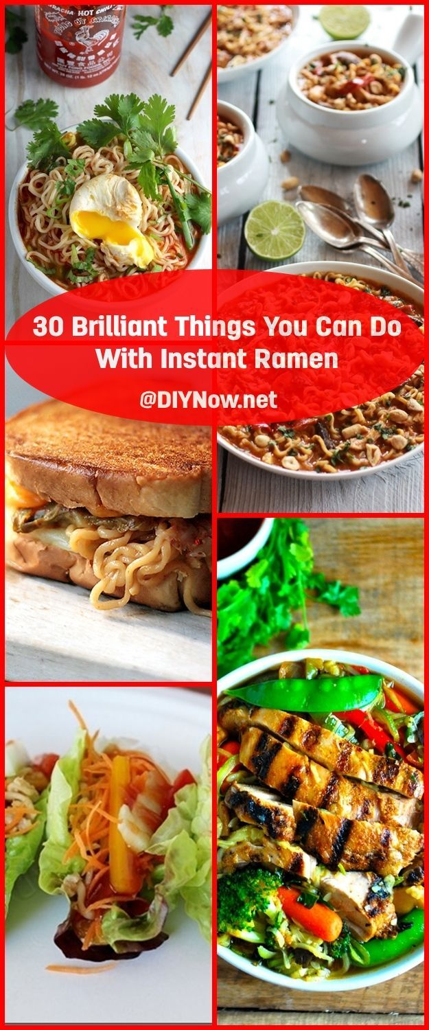 30 Brilliant Things You Can Do With Instant Ramen