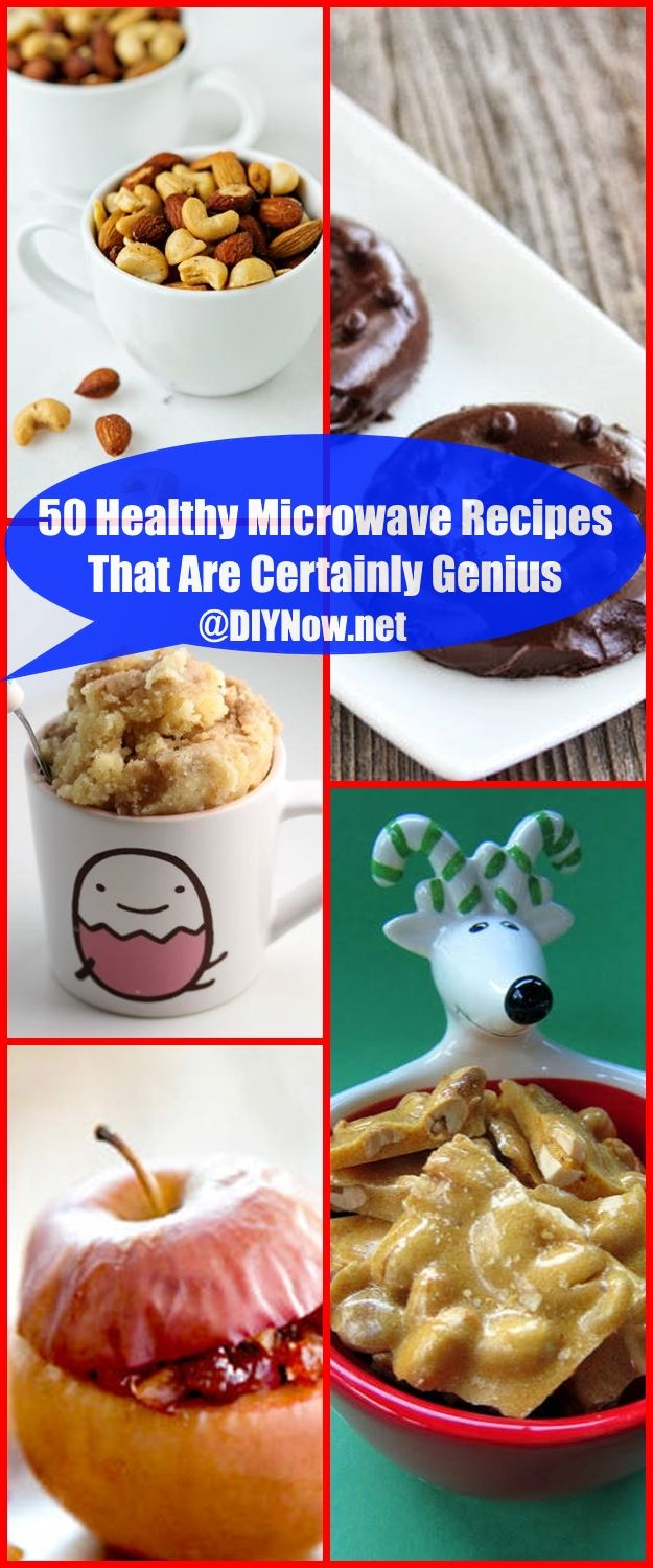 50 Healthy Microwave Recipes That Are Certainly Genius